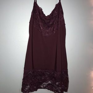 Lacy layering tank